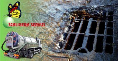 offerta pulizia fognature civili e industriali occasione lavaggio vasche decantazione verona