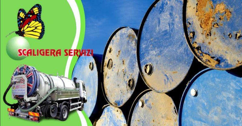 SCALIGERA SERVIZI - Offerta recupero e smaltimento rifiuti industriali e privati Padova