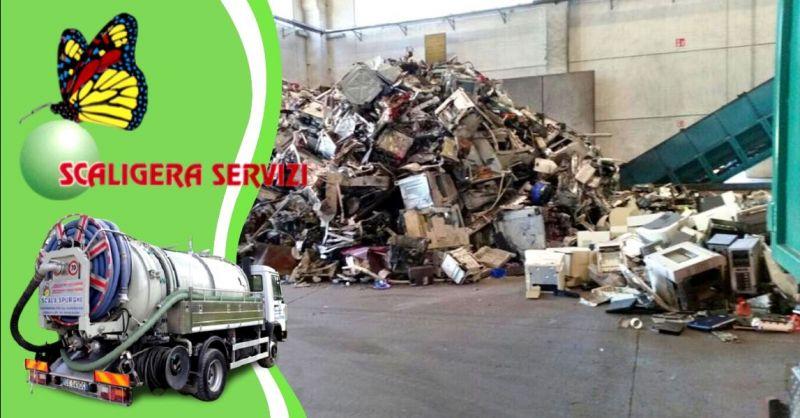 Offerta servizio privato smaltimento rifiuti speciali - occasione attribuzione codice CER Padova