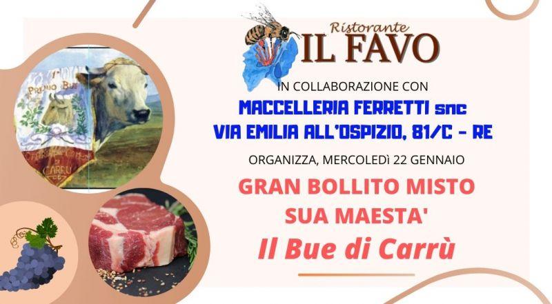 offerta bollito misto bue di carrù a Reggio Emilia Cadelbosco di Sopra -