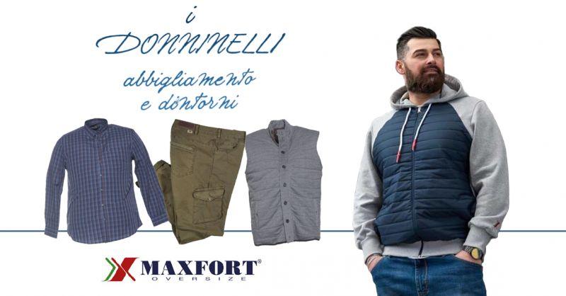 Offerta Abbigliamento Oversize Uomo Castelplanio - Occasione Taglie Forti Uomo Castelplanio