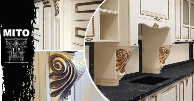 Promozione cucine artigianali legno massello Verona - Offerta vendita cucina mobili componibili Verona