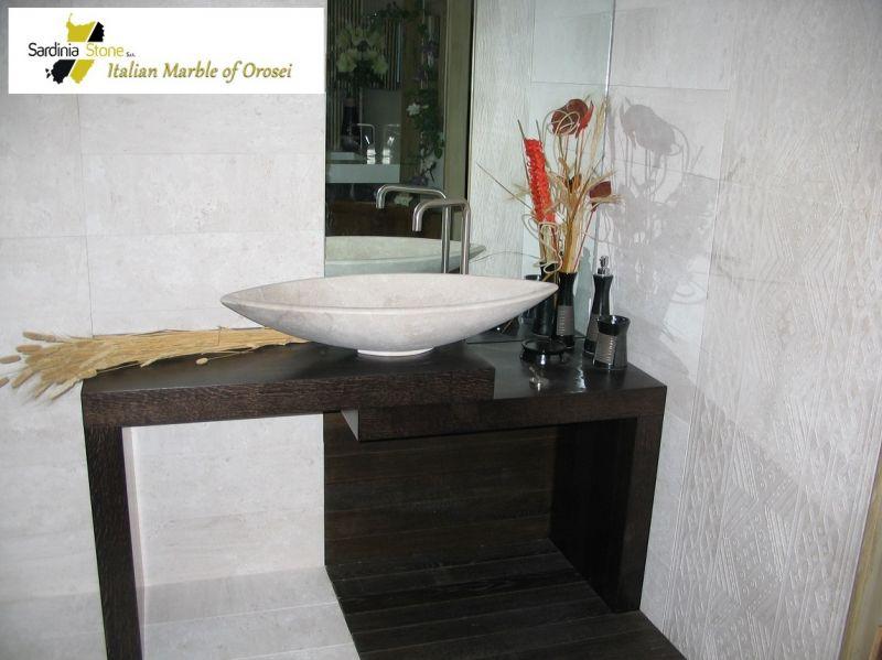 Sardinia Stone - Offerta vendita top in marmo arredo bagno made in Italy Sardegna
