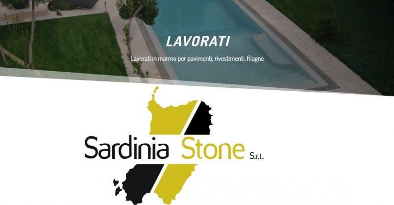 SARDINIA STONE SRL - Promozione lavorati in marmo sardo per pavimenti rivestimenti filagne
