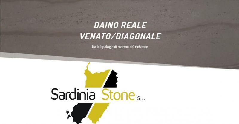 SARDINIA STONE SRL - Indiscusso Re dell'eleganza firmata Made in Italy MARMO Daino Reale Venato