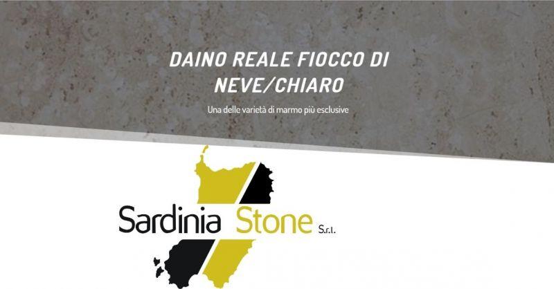 SARDINIA STONE SRL - Marmo con tonalità di beige Daino Reale Fiocco di Neve made in Italy
