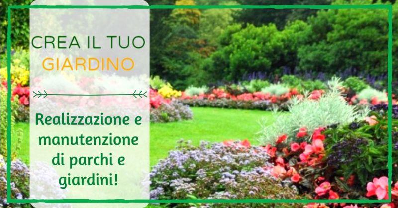 Offerta progettazione e realizzazione professionale di parchi e giardini Bologna