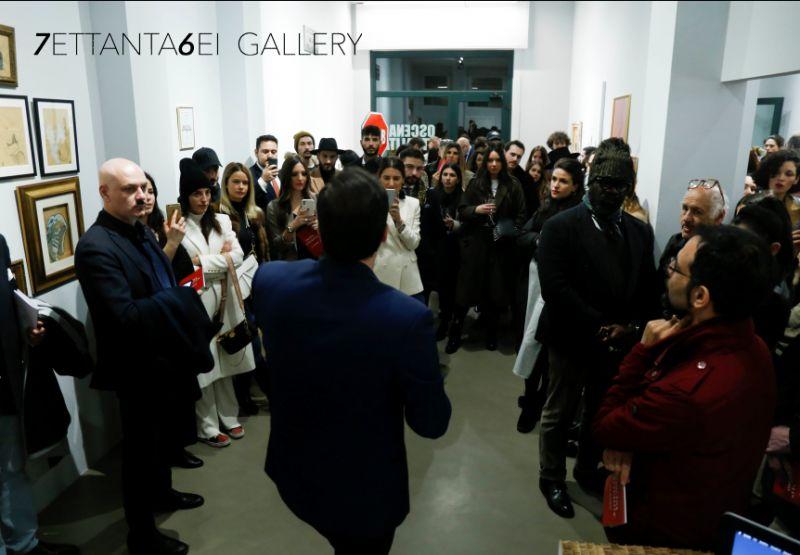 7ETTANTA6EI ART GALLERY offerta eventi culturali milano - promozione galleria d arte
