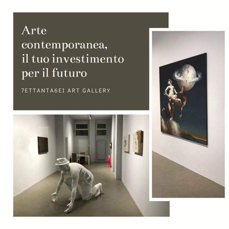 investimenti finanziari arte contemporanea valore patrimonio 7ETTANTA6EI ART GALLERY