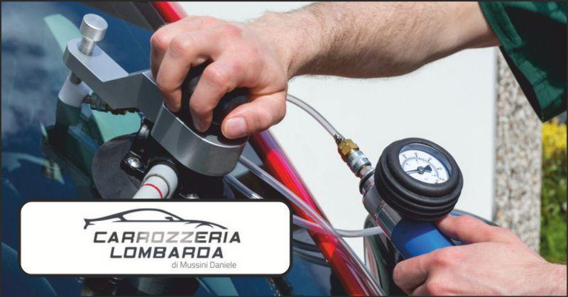 carrozzeria lombarda offerta sostituzione cristalli - occasione sostituzione parabrezza auto