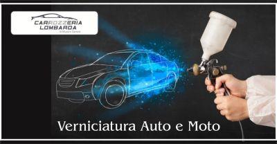 carrozzeria lombarda offerta verniciatura auto occasione verniciatura moto cremona