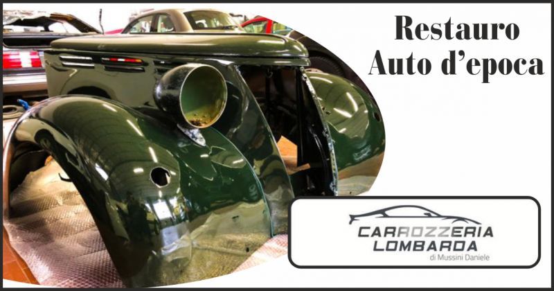 carrozzeria lombarda offerta restauro auto d'epoca - occasione riparazione carrozzeria auto
