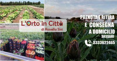 l orto in citta di rossella sini sassari offerta consegna frutta e verdura a casa
