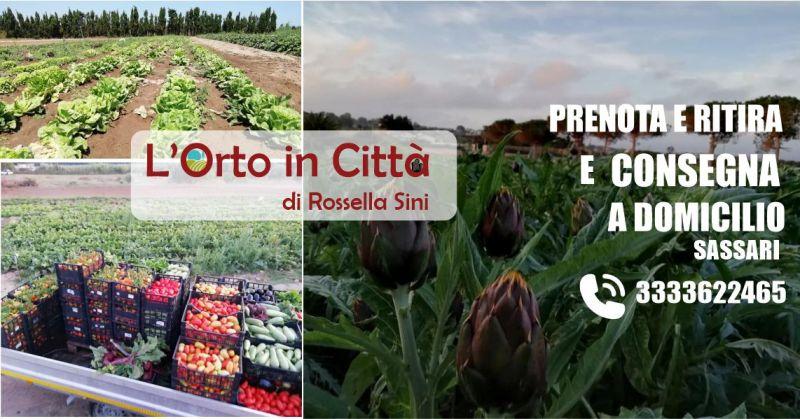 L ORTO IN CITTA DI ROSSELLA SINI Sassari - offerta consegna frutta e verdura a casa