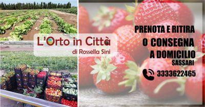 l orto in citta di rossella sini sassari offerta consegna frutta e verdura fresca a domicilio