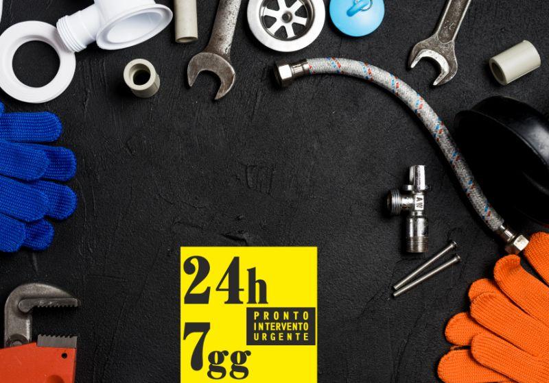 PRONTO INTERVENTO URGENTE 24 ORE offerta interventi idraulici - intervento idraulico