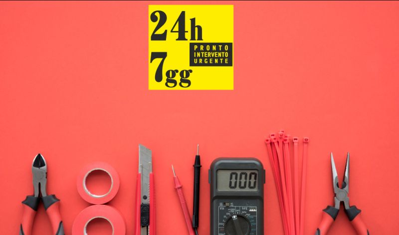 PRONTO INTERVENTO URGENTE 24 ORE offerta elettricista esperto - promozione elettricisti specializzati