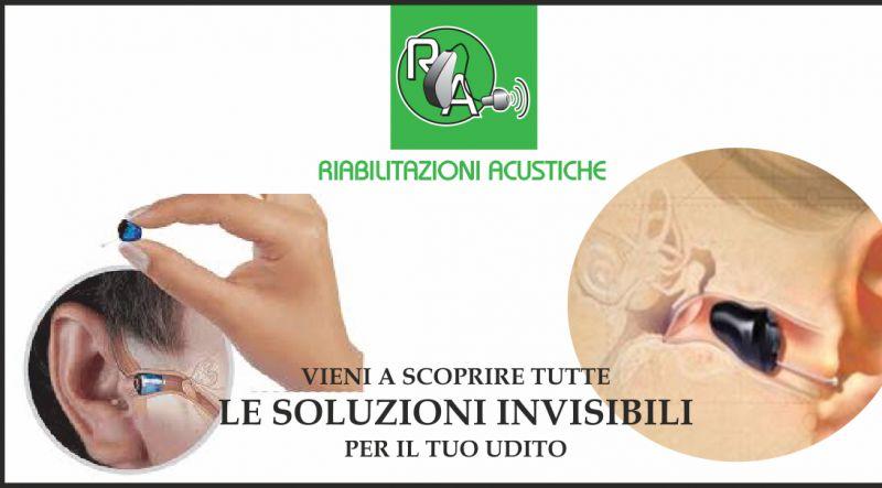 offerta apparecchi acustici invisibili - occasione protesi con convenzione asl e inail perugia