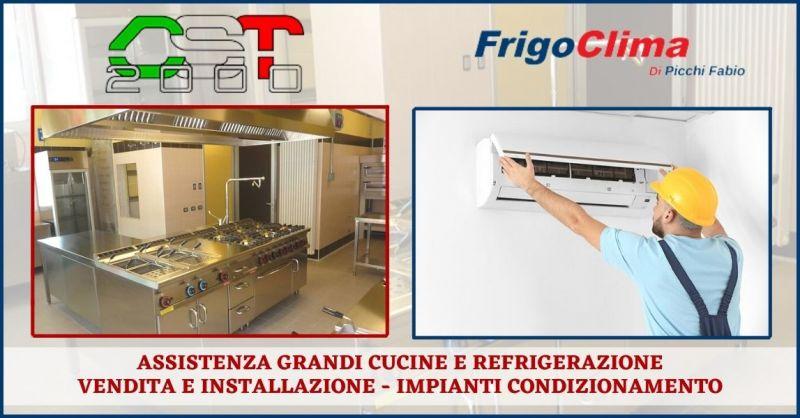 offerta assistenza refrigerazione grandi cucine - occasione installazione impianti condizionamento industriale