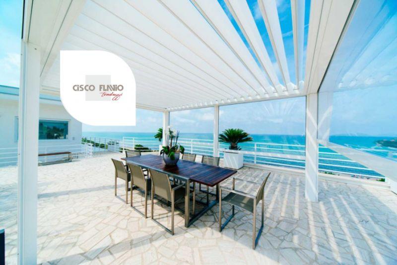 CISCO TENDAGGI DESIGN offerta pergotende bioclimatiche ke outdoor design – tende coibentate arluno