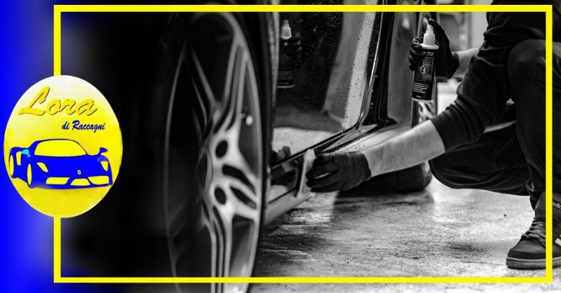 Offerta servizio lavaggio interno e igienizzazione Auto Brescia - Occasione lucidatura e trattamento nanoparticelle carrozzeria