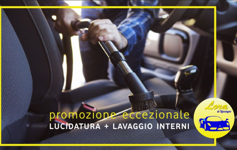 CARROZZERIA LORA offerta lucidatura lavaggio interni auto – promozione pulitura automobile