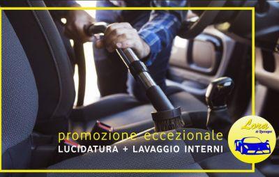 carrozzeria lora offerta lucidatura lavaggio interni auto promozione pulitura automobile