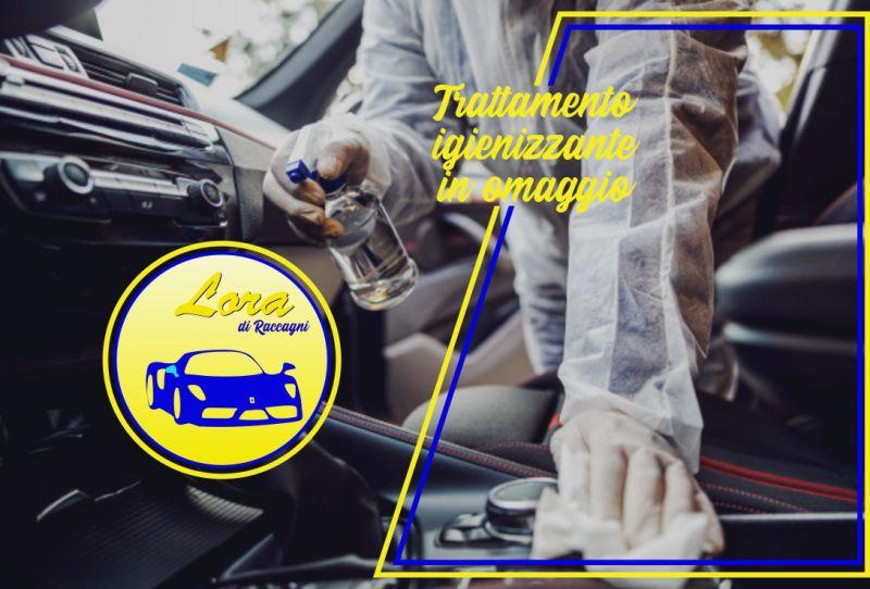 CARROZZERIA LORA offerta lavaggio interni automobile – omaggio igienizzazione abitacolo auto