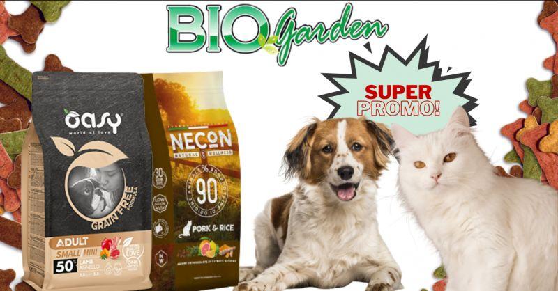 Offerta vendita croccantini Necon gatto Ragusa - promozione cibo secco per cani Oasy Vittoria