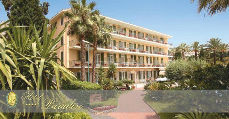 hotel paradiso offerta hotel con piscina - occasione hotel con parcheggio sanremo
