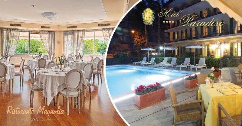 offerta ristorante con piscina sanremo - occasione miglior ristorante piatti liguri all'aperto sanremo