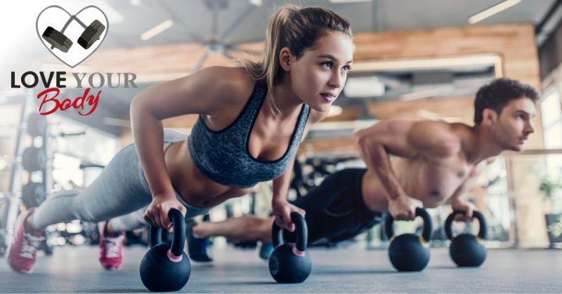 LOVE YOUR BODY palestra - offerta raggiungere velocemente la tua forma fisica ideale