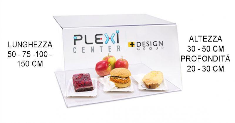 Offerta espositore bancone da bar per alimenti in plexiglass Verona - Occasione covid19