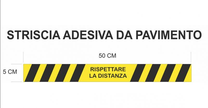 Offerta adesivi e kit distanze di sicurezza segnalazione Corona Virus Verona e provincia