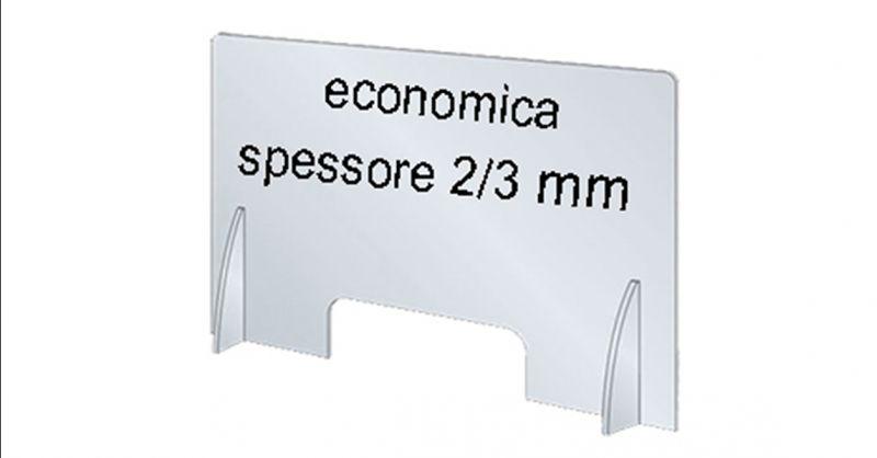 Offerta barriere economiche parafiato in plexiglass per bar negozi uffici ristoranti Veneto
