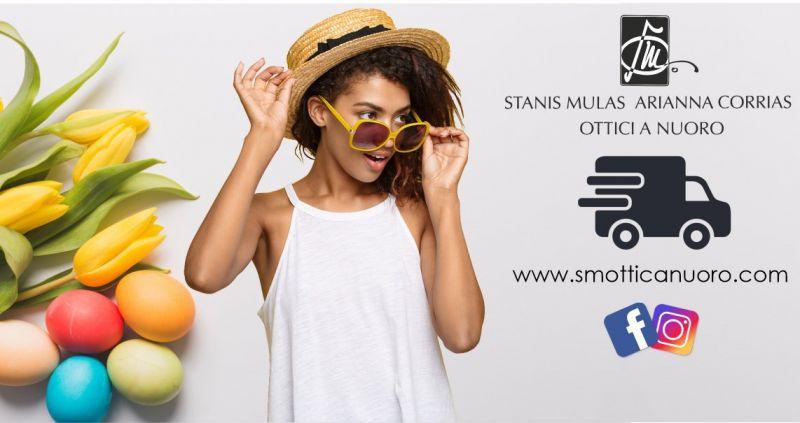 SM OTTICA Nuoro - offerta consegna a domicilio occhiali da vista e sole