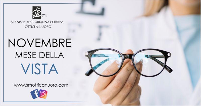 SM OTTICA Nuoro mese prevenzione - offerta visita di controllo vista