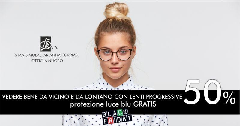 SM OTTICA Nuoro black friday - promozione  occhiali da vista con lenti progressive