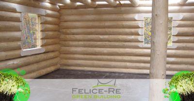 offerta realizzazione case blockbaucase vicenza occasione progettazione case in legno a tronco vicenza