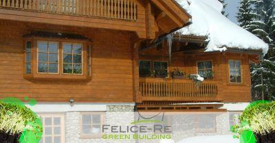 offerta blockhaus case di legno massiccio vicenza occasione realizzazione baite e chalet vicenza
