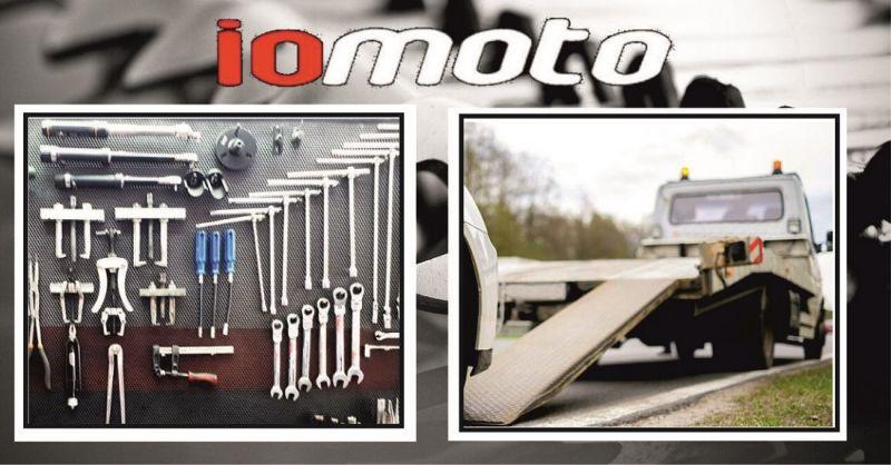 Servizio di soccorso stradale e recupero moto e scooter incidentati a Firenze – IOMOTO