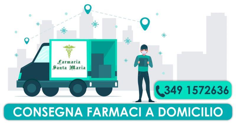 FARMACIA SANTA MARIA  Serramanna - offerta servizio consegna farmaci a domicilio