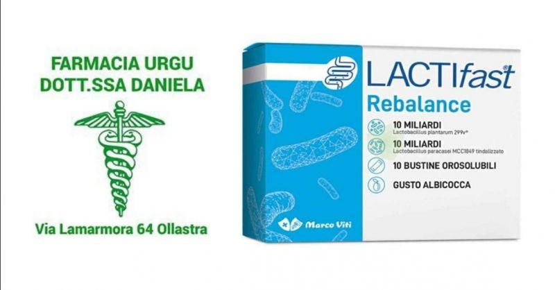 Offerta Marco Viti lactifast - occasione fermenti lattici vivi Lactifast Rebalance Oristano