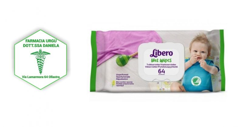 Salviette Detergenti Libero Wet Wipes