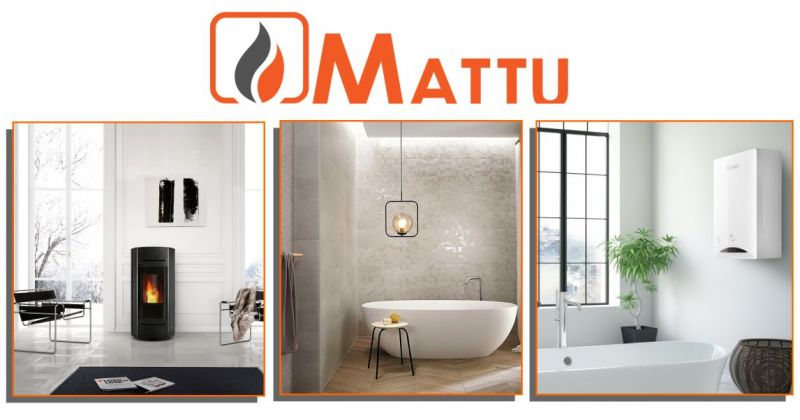 MATTU SNC - offerta installazione e assistenza per stufe a pellet e a legna Edilkamin