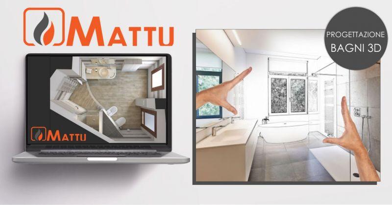 MATTU SNC Fonni - servizio di progettazione bagni in 3D