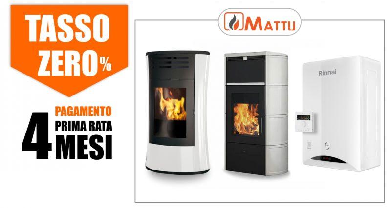 MATTU SNC - offerta stufe Edilkamin tasso zero pagamento prima rata dopo 4 mesi
