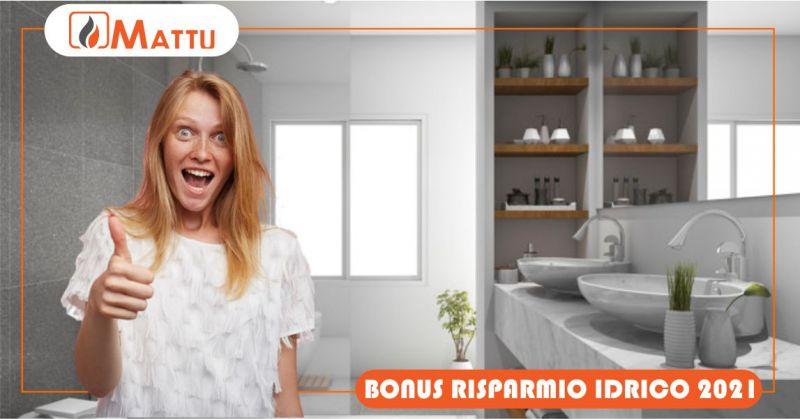 MATTU SNC rimborso conto termico - offerta bonus risparmio idrico 2021