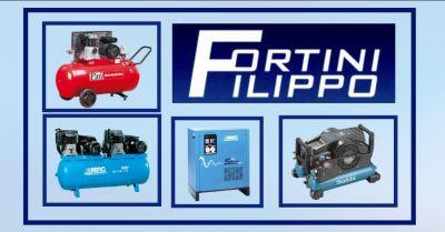 offerta vendita e installazione impianti distribuzione aria compressa firenze fortini filippo