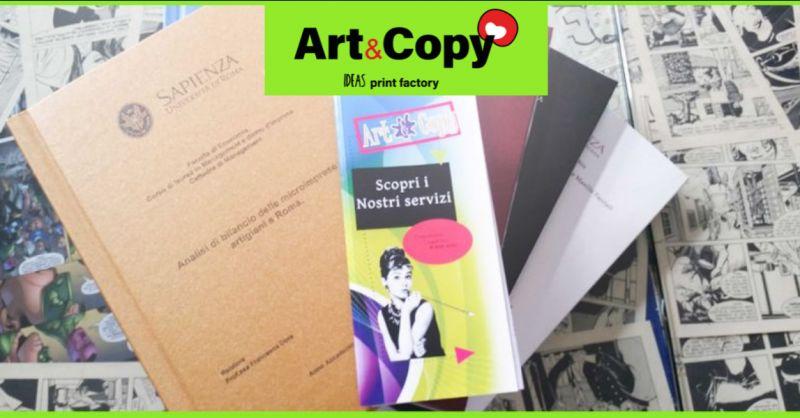 Offerta rilegatura tesi di laurea Aprilia - Promozione copisteria Anzio